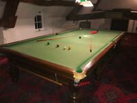 EJ Riley full size (12ft) snooker table