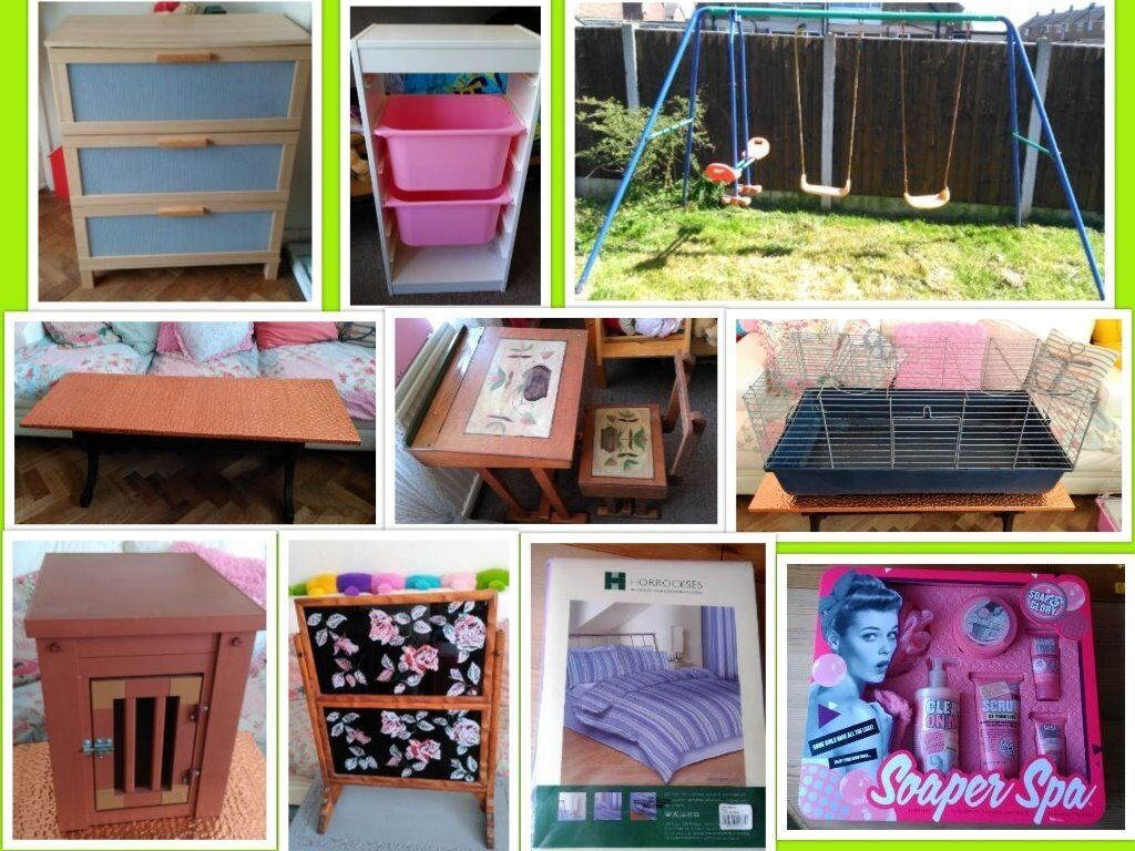 Home Items Coffee Table Ikea Drawers Storage Unit Swing Set Desk And Chair Rabbit Cage