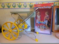 Casdon Toy Patio Trolley - very rare almost a collectors piece,
