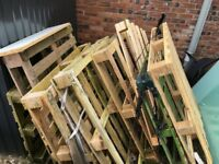 Wood pallets various sizes
