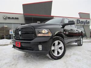 2014 Ram 1500 CREW CAB SPORT 4WD 1-OWNER TRADE-IN!!!