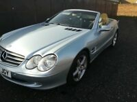 CONVERTIBLE!! 2003 03 MERCEDES-BENZ SL 5.0 SL500 2D AUTO 306 BHP **** GUARANTEED FINANCE ****