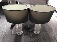 Next crackle lamps