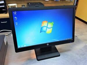 Moniteur 19po Widescreen LED HP LV1911  **Testé et Garanti**  #F017880