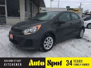 2017 Kia Rio LX+/LOW, LOW KMS!/PRICED -A QUICK SALE