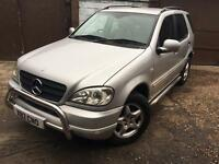 2001 Mercedes ML320 AUTO 215BHP Long MOT Fully Loaded Top Spec Top Of The Range