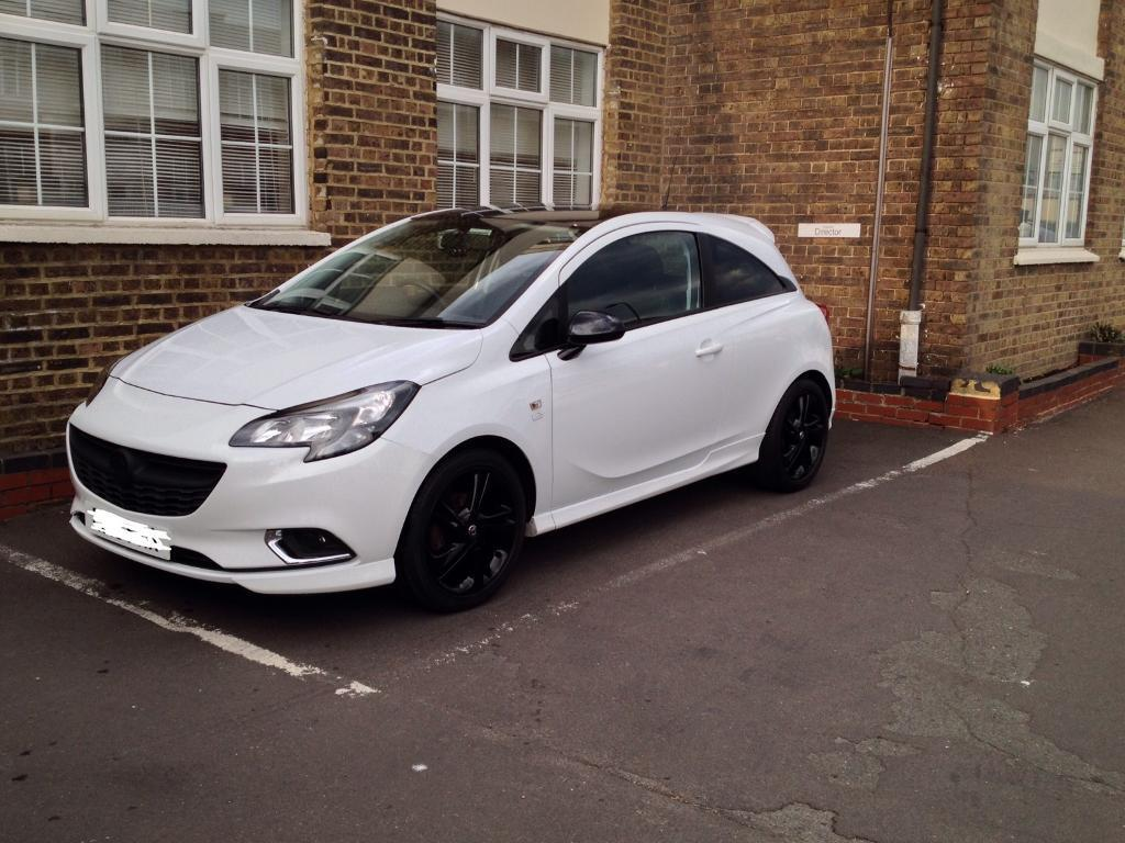 vauxhall corsa e 2015 limited edition 1 4 petrol 29k in. Black Bedroom Furniture Sets. Home Design Ideas