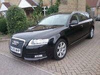 AUDI A6 ESTATE DIESEL AUTO ONLY 17K MILES WITH SERVICE RECORD FULL LEATHER SAT NAV EXCELLENT COND