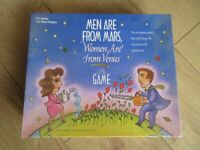 MEN ARE FROM MARS WOMEN ARE FROM VENUS BOARD GAME - IMMACULATE