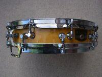 "Tama AW623 Artwood BEM piccolo snare drum 14 x 3 1/2"" - '80s - Japan"