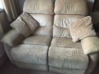 2 Seater Recliner Sofa (Individually Electrically Operated)