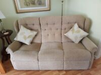 Three seater sofa - excellent condition