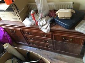 Solid wood sideboard / cupboard project