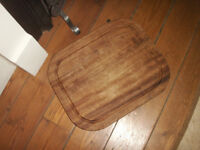 Large solid wood chopping board