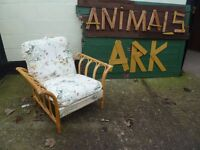 Bamboo Armchair Delivery Available £10