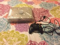 Original Crystal Xbox with controller s