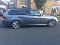 BMW 320d estate 09 plate