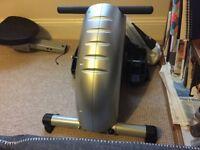 Nearly new rowing machine
