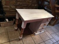 Shabby Chic Pine Dressing Table