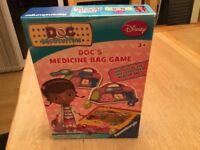 Doc McStuffin Medicine Bag Game.