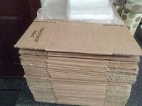 41 7x5x5 boxes new plus receipt clear posting envelopes