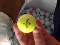 Titelist Nike tailor-made Calloway golf balls