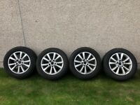 VW Alloys with General Grabber winter tyres on