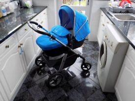 Silver Cross Pioneer Pram/Pushchair