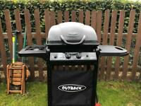 Outback - Gas BBQ. In excellent working order and condition like new.