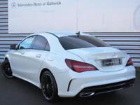 Mercedes-Benz CLA CLA 180 AMG LINE (white) 2017-12-08