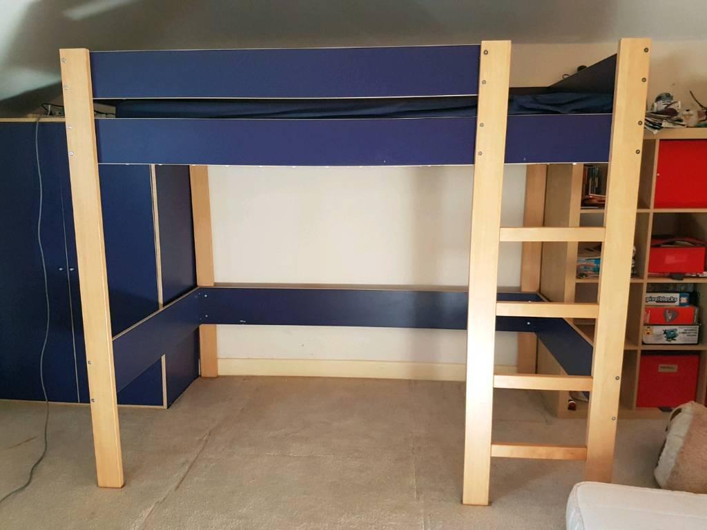 Ikea Robin Loft Bed In West Parley Dorset Gumtree
