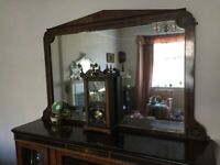 Credenza with mirror for sale