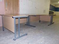 3 Office Desks in Good Order