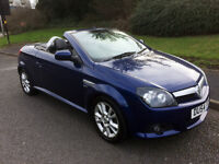 Vauxhall Tigra 1.4 i 16v Sport, CONVERIBLE, VERY GOOD CONDITION, MOT August, Bluetooth hands free