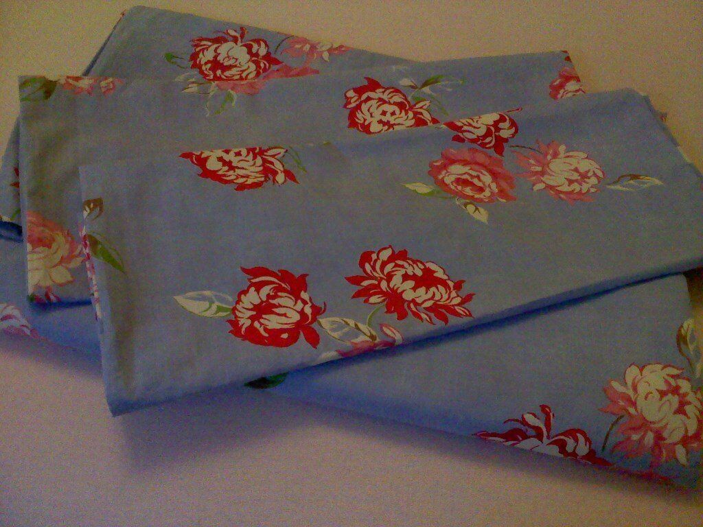 3 Pretty Floral Double Duvet Covers and Matching Pillowcases Sets.