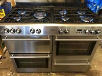 Belling range gas cooker and electric ovens 110cm