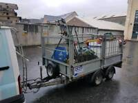 Ifor williams trailer with mesh sides