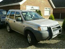 Breaking freelander xe diesel 2000 x all parts available
