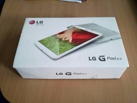 LG G Pad 8.3 Android Tablet - Like New
