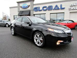 2014 Acura TL Elite TOP OF THE LINE , LOW KM.