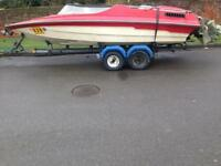 16ft mercruiser speedboat trailer complete