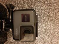 Gopro hero 4k video 12mp photo. GPS etc etc as per hero 5 black