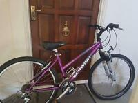 Ladies mountain bike £90