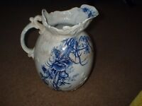 DOULTON BURSLEM LARGE PITCHER/JUG WOODLAND PATTERN c1891-1902