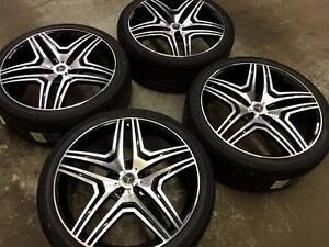 "22"" Mercedes Wheels and Tires (Mercedes ML) Calgary Alberta Preview"