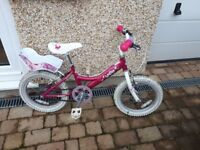 Girls 16inch Bike - Dawes Lottie