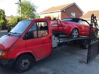 Ford transit recovery truck 2.5 di