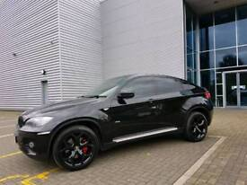 Bmw X6. Black on black, low miles, fully loaded