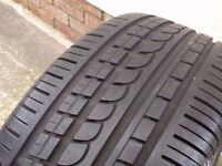 "225 50 17"" Pirelli P Zero Rosso Part Worn Tyre 7.5mm Tread Depth BMW MERCEDES AUDI ETC"