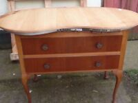 Kidney Shaped Dressing Table Delivery Available